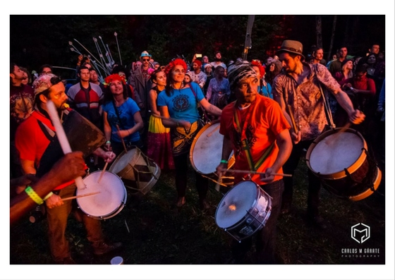 Maracatu Mar Aberto,  Harvest Festival  2016    photo by  Carlos Garate