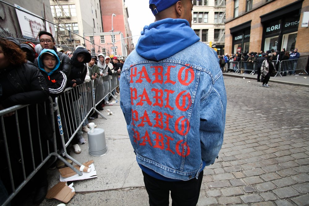Life of Pablo Pop-up Shop - NYC  VIA VILLAGE VOICE