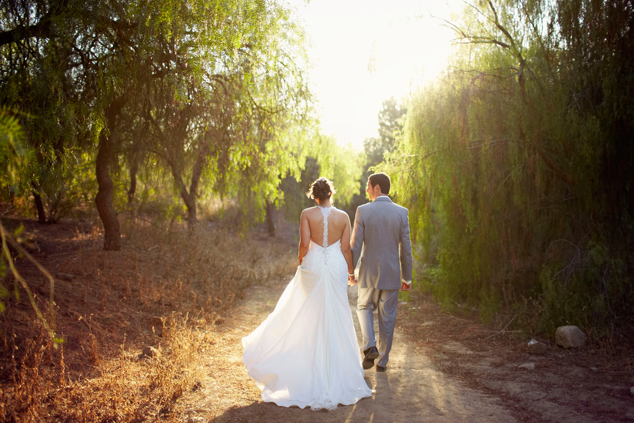 Southern California sun wedding