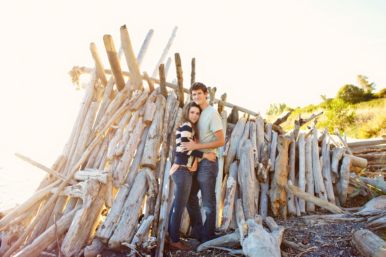 Driftwood fort engagement