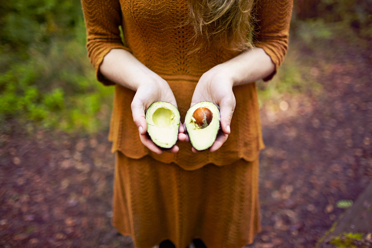 Road trip engagement avocado picnic