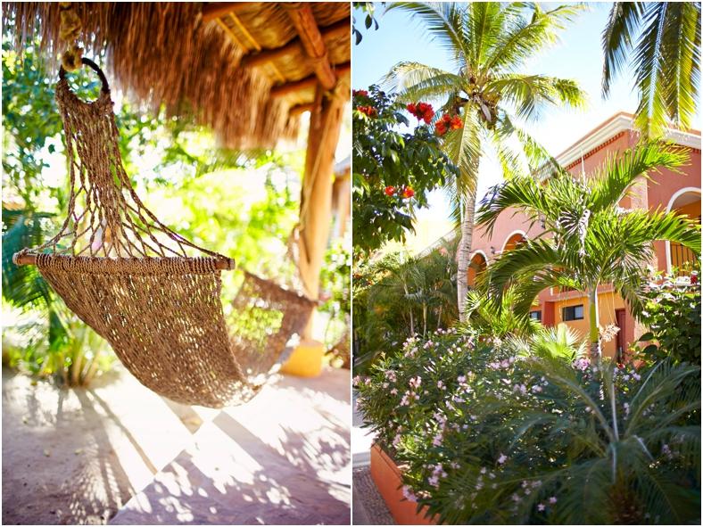 Mexico wedding, hammock and resort