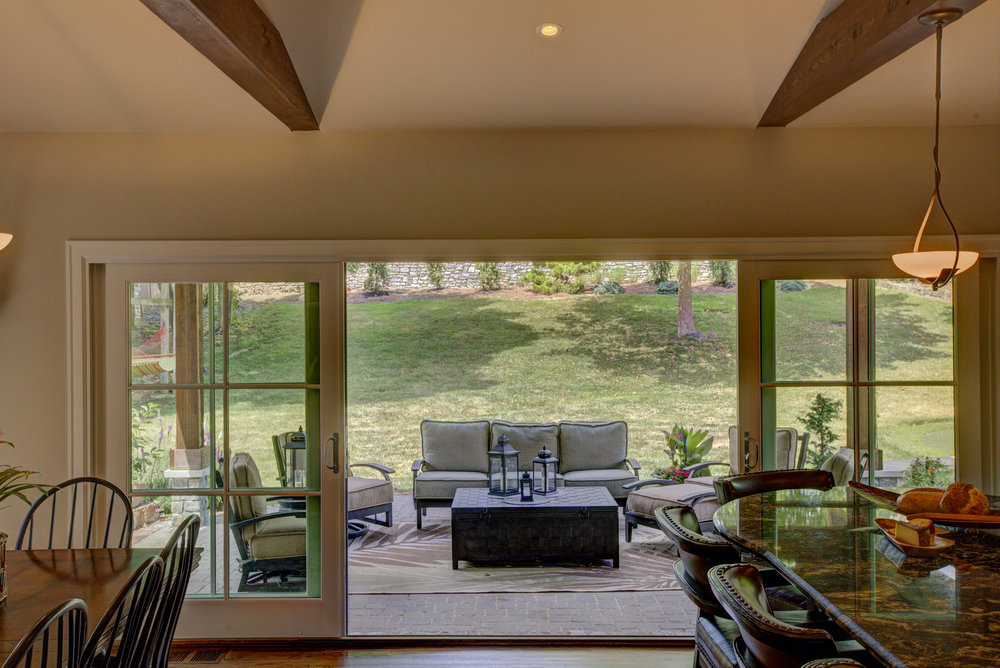 Andersen Eagle Frenchwood Gliding Patio Doors (installed 2014)