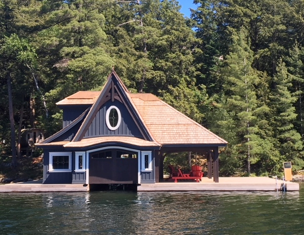 VICTORIAN REVIVAL BOATHOUSE