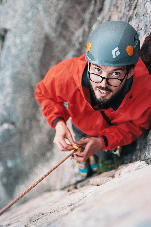 Climber Portrait Photography