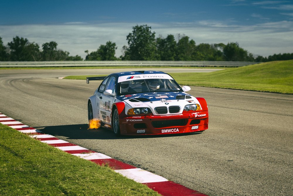 2001 Bmw E46 M3 Gtr Flame Thrower Or Race Car Chandler Hummell Photography Hilton Head Island