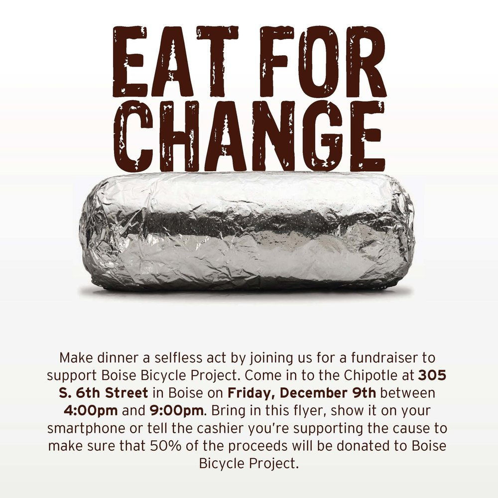 Chipotle Dec 9th 4-9pm