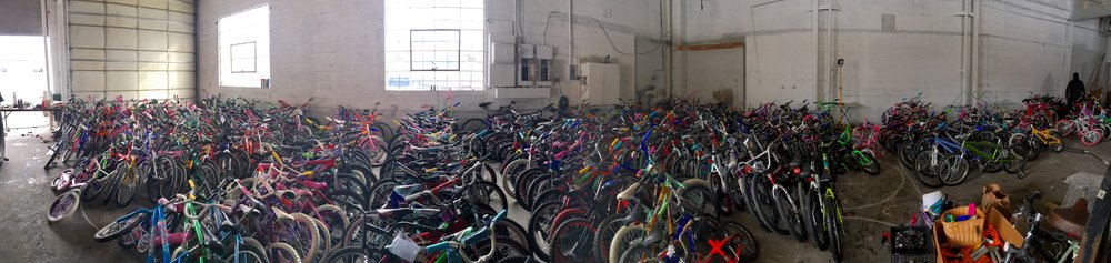 2016 Giveaway Bikes Ready To Ride!