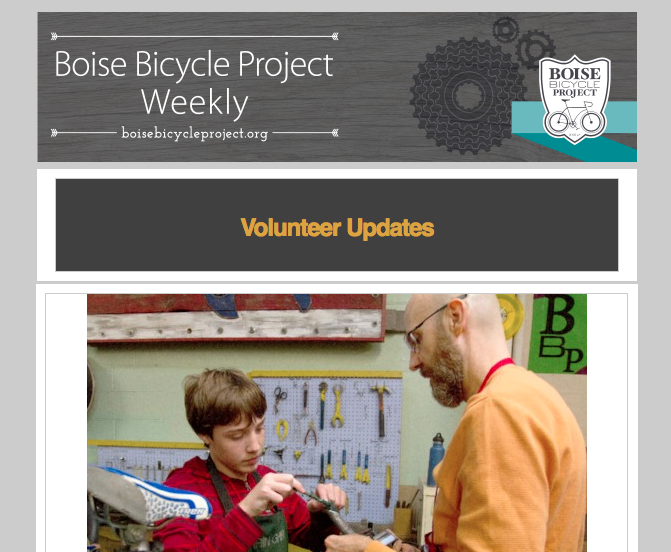 Kids Fix-It Night | Leadville Bikeway Project | BBP Closed Sunday for Staff Retreat | Friday Members Class & More!