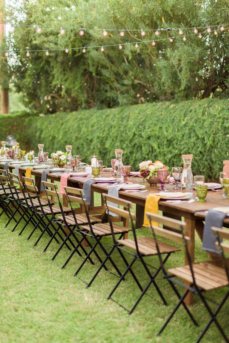 backyard dinner party u2014 hoot u0026 holler