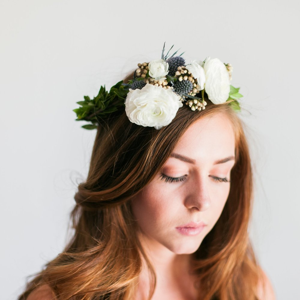 Flower Crowns (Minimal or Lush)