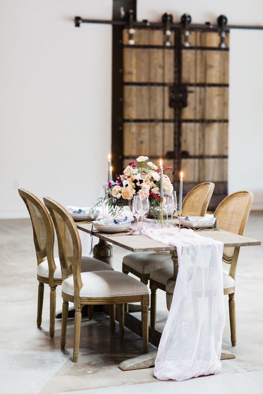 chic-pink-wedding-reception-design