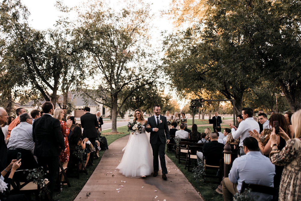 moody outdoor fall wedding - 09