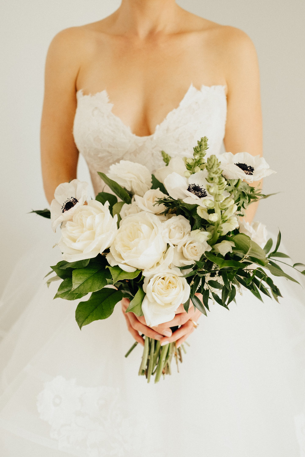 Black & White Bridal Bouquet Inspiration