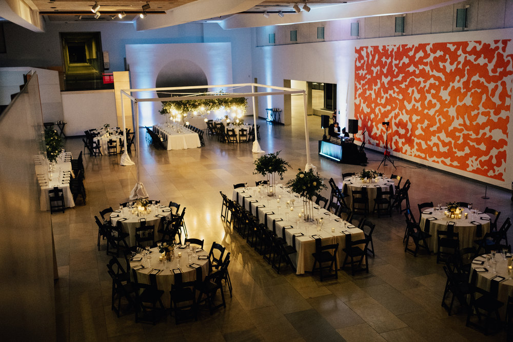 Phoenix Art Museum Wedding Reception