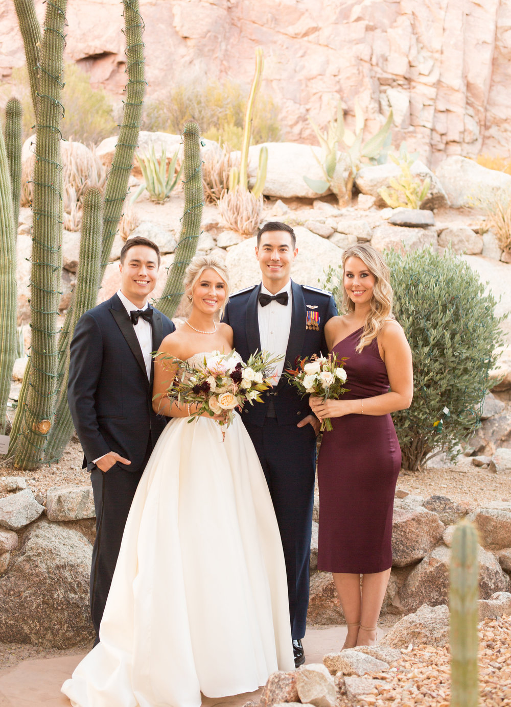 December Arizona Wedding