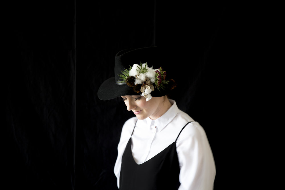 Summer Bellessa Floral Hat
