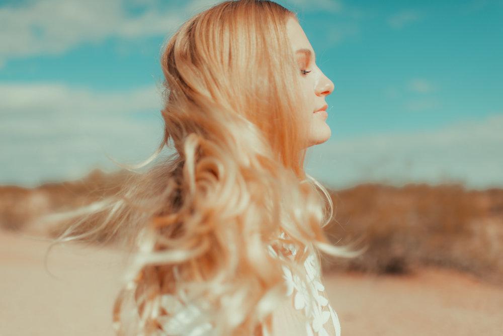 70's Desert Bridal Style
