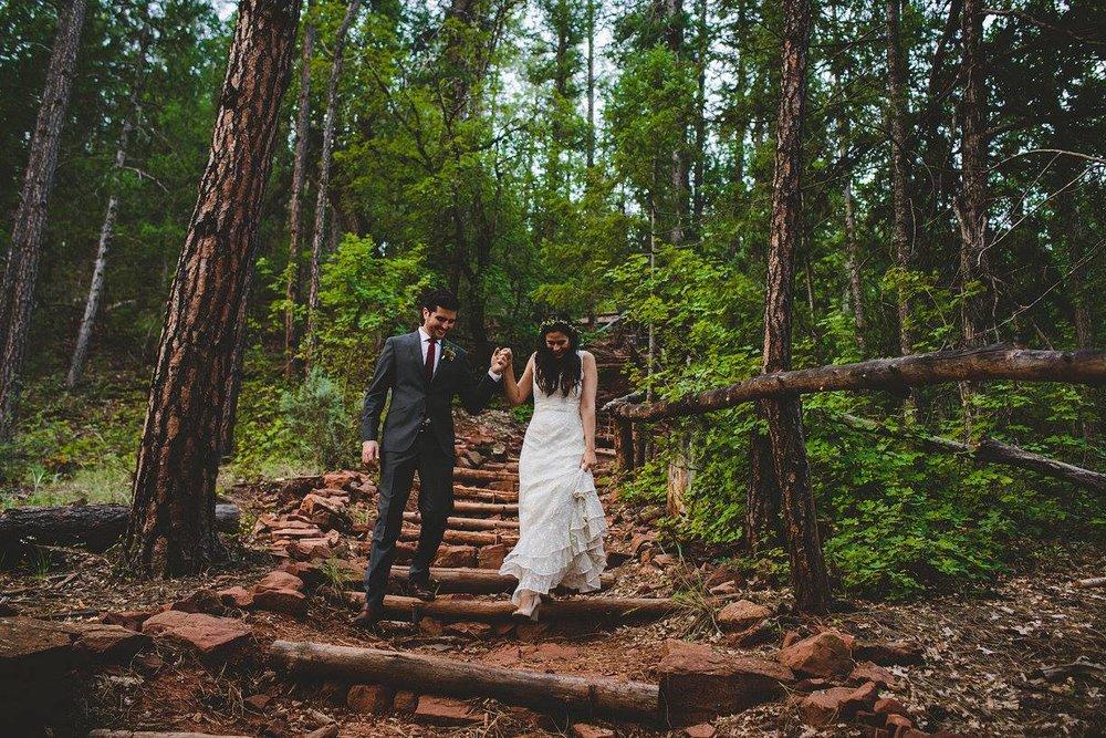 Camp Geronimo Wedding