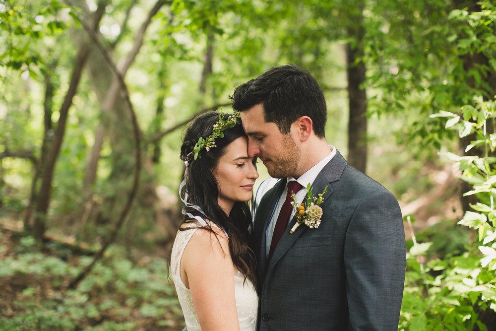 Simple Flower Crown for Bride