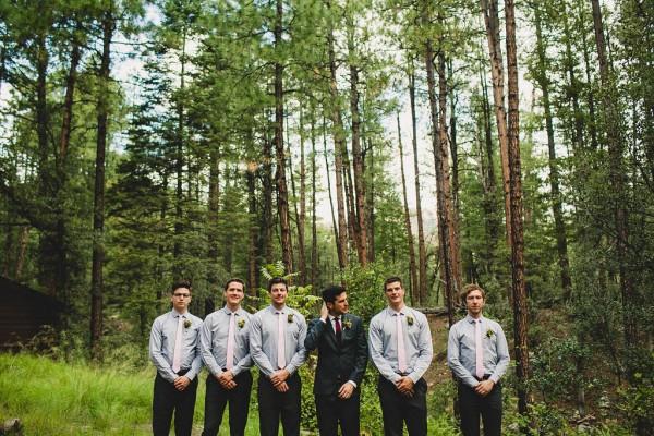 Forest Wedding - Groomsmen