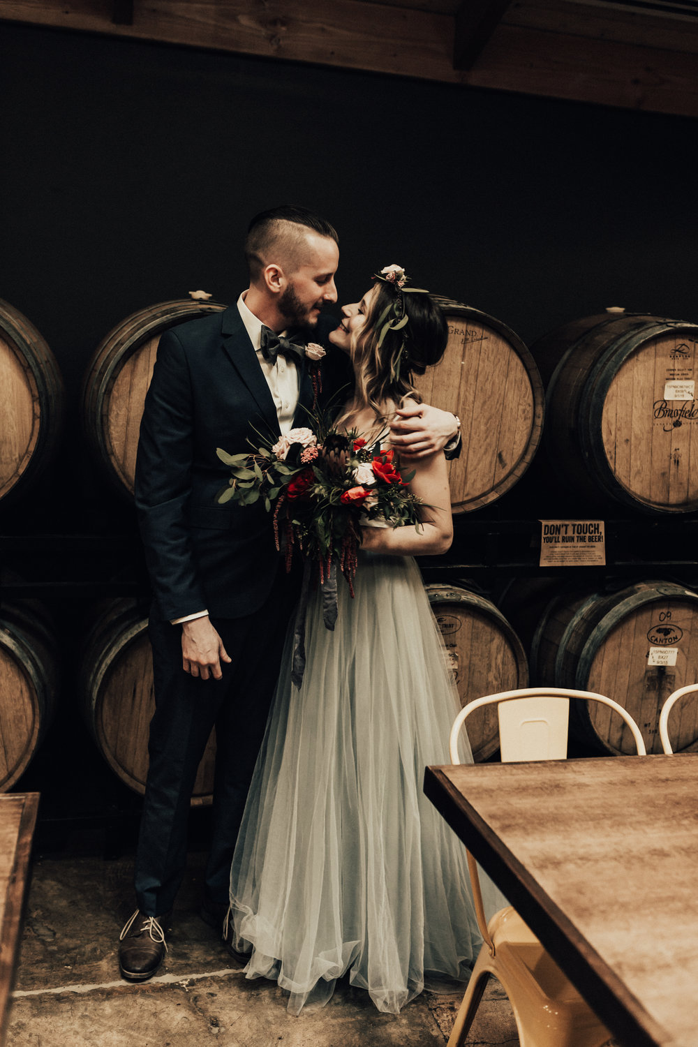 Arizona Brewery Elopement