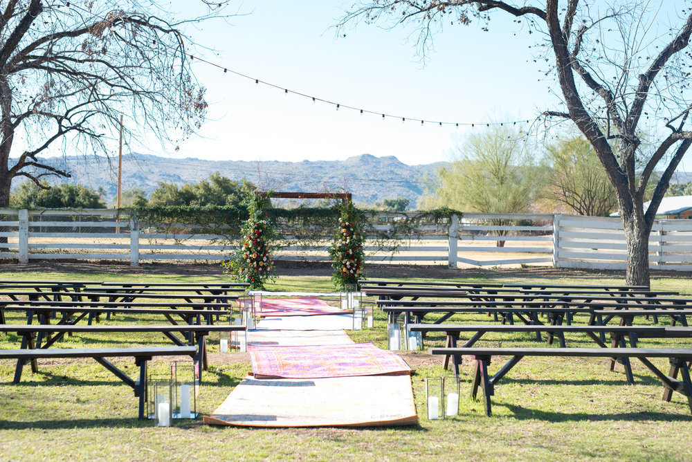 Wedding at The Farm at South Mountain