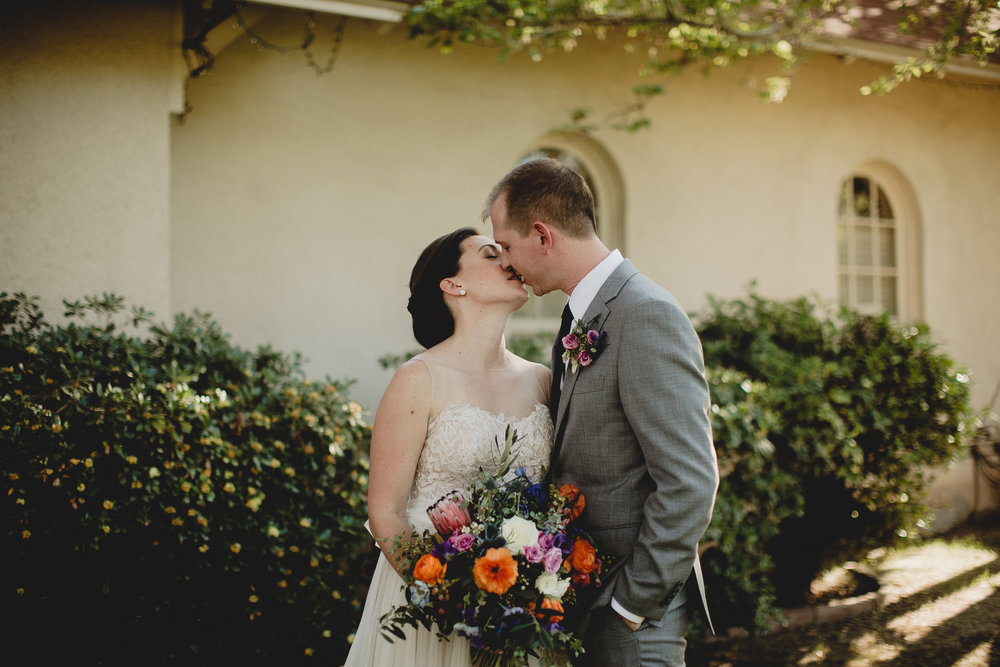 Colorful Wildflower Wedding