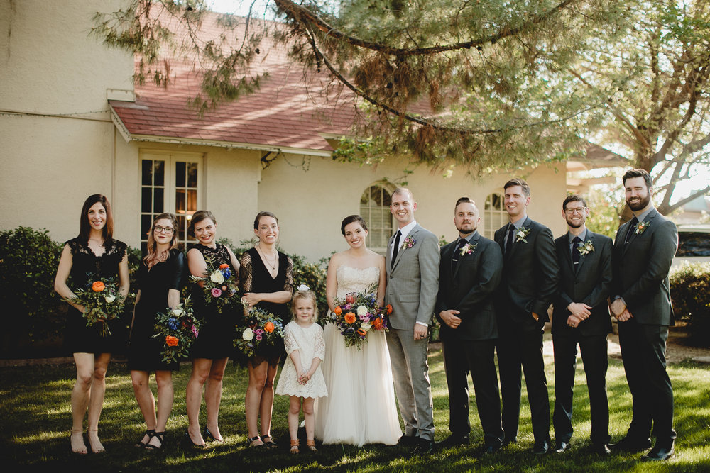 Colorful Wildflower National Park Wedding