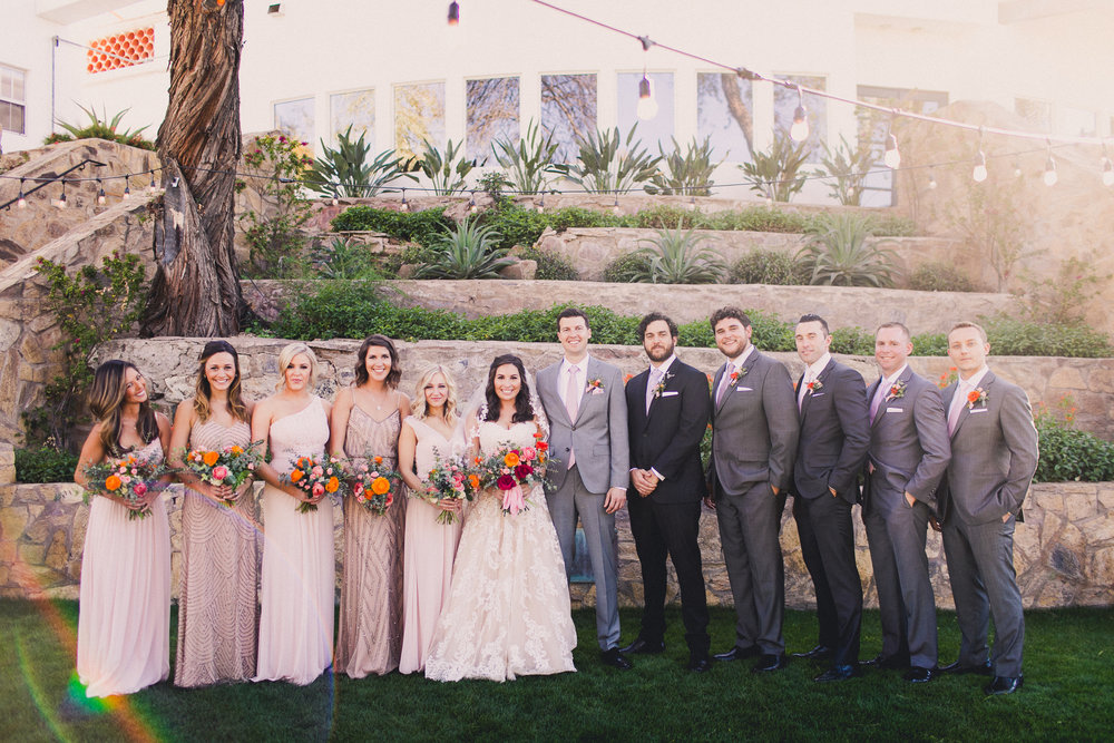 Spring Wedding at Wrigley Mansion