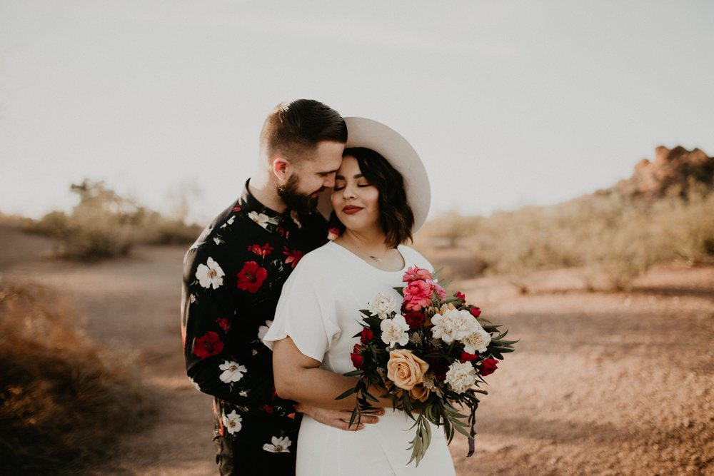 Desert Elopement Inspiration