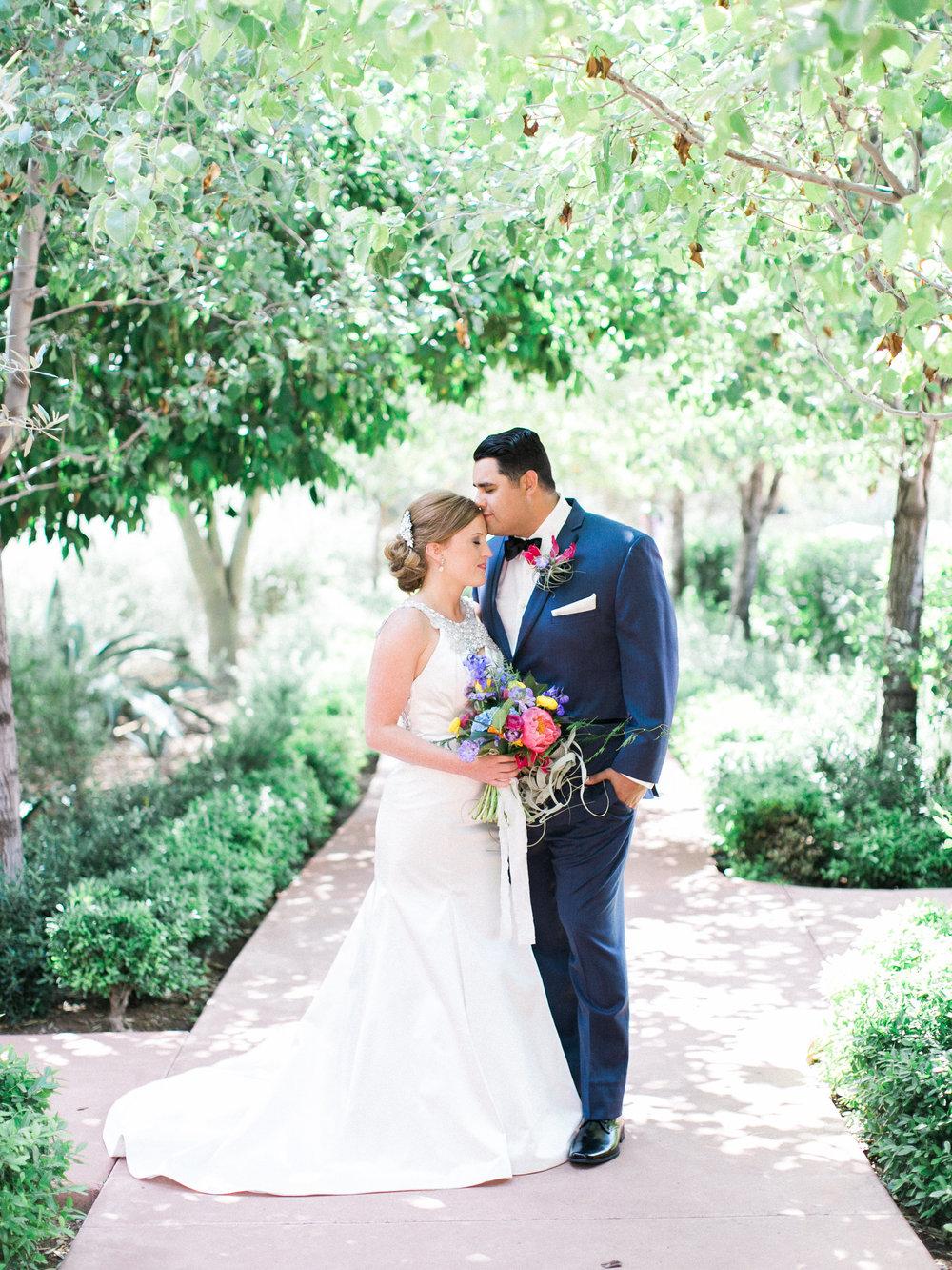 Colorful El Chorro Wedding
