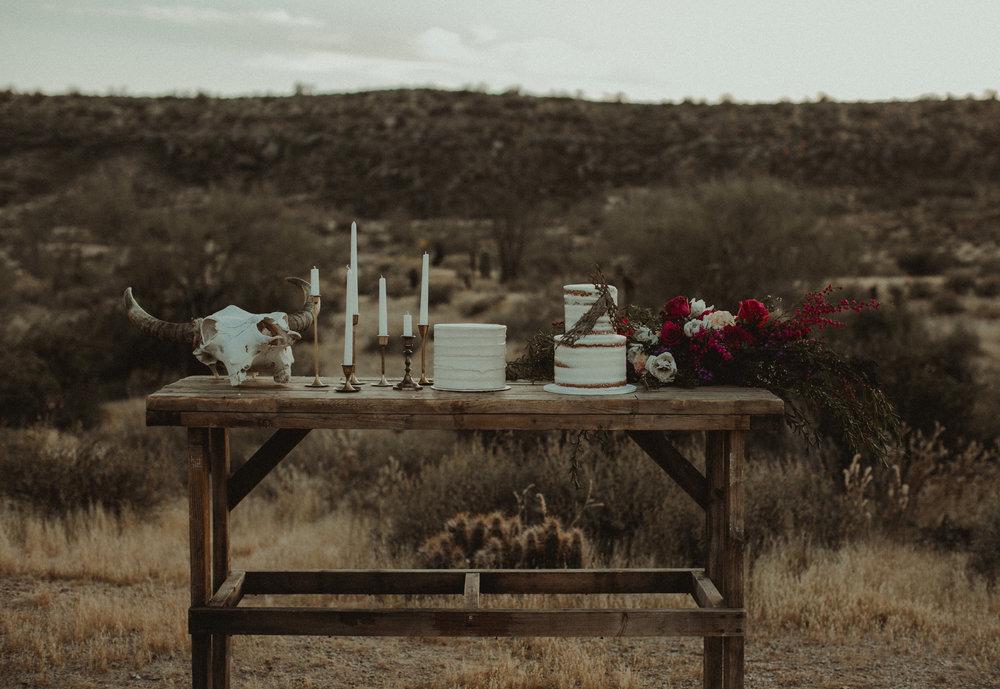 Southwestern Inspired Desert Elopement