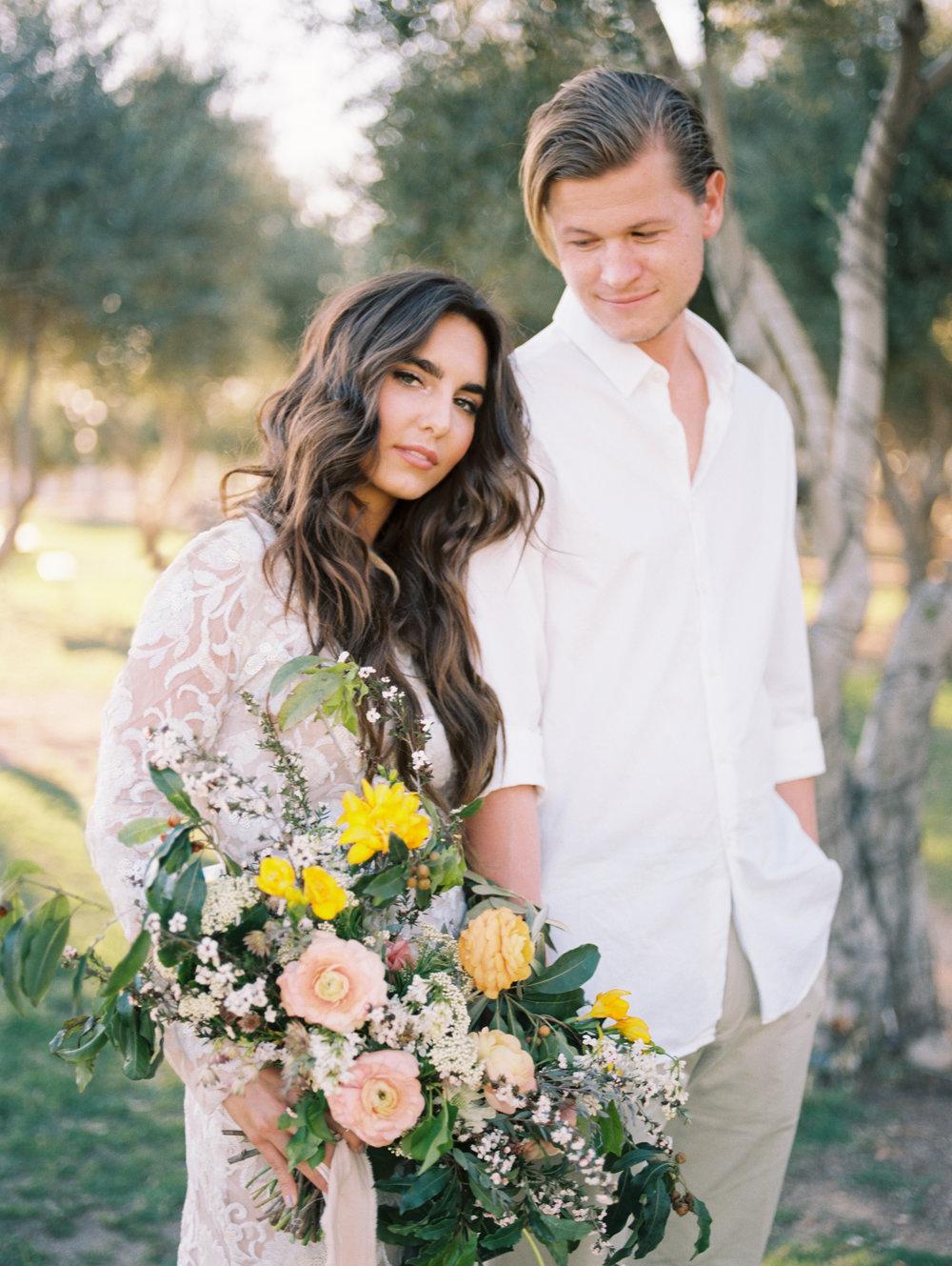 olive mill boho wedding inspiration