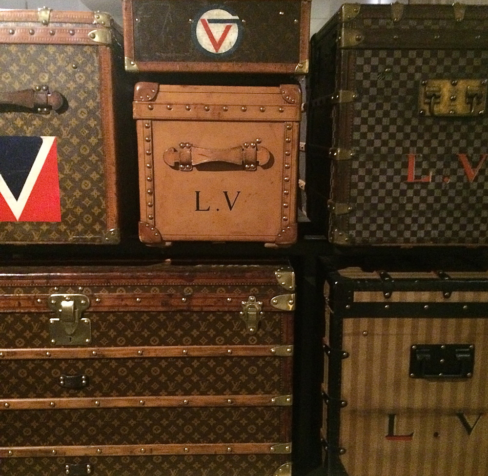 Damier, monogram....numerous iconic trunks