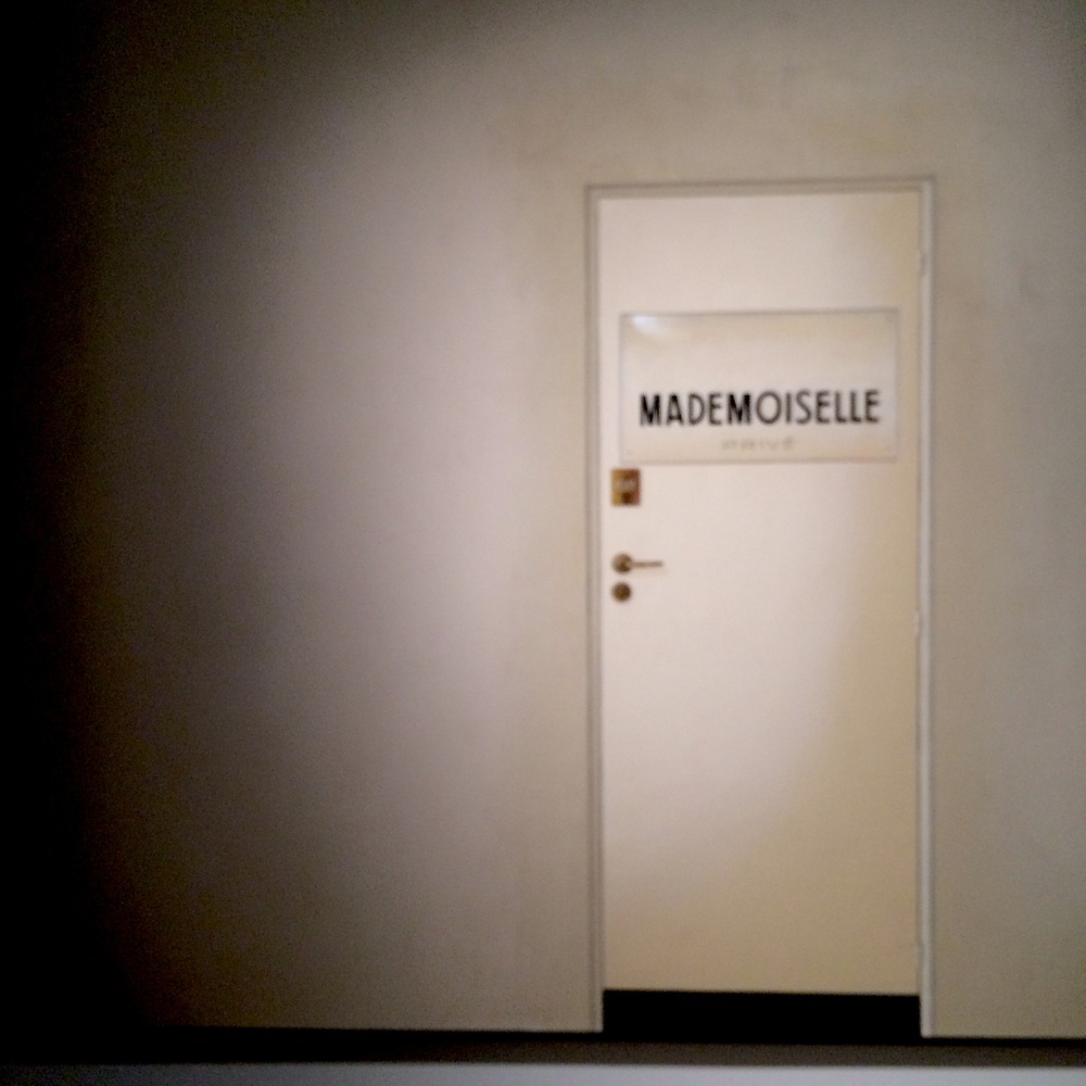 "Mademoiselle Prive, the title of the exhibition, is pulled from the atelier's door of Coco Chanel, who hated being disturbed and wrote ""Private"" in order to keep her staff away."