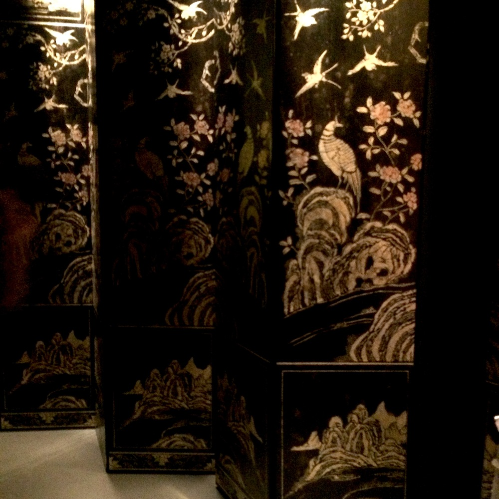 "Coromandel screen is one of the most important legacy of Coco Chanel's personal belongings and preciously reserved in the ""apartment"", on upper floor of rue Cambon boutique in Paris."