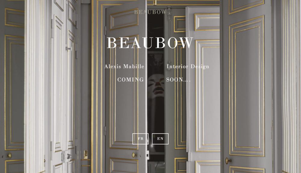 COMING SOON : https://www.beaubowparis.com/