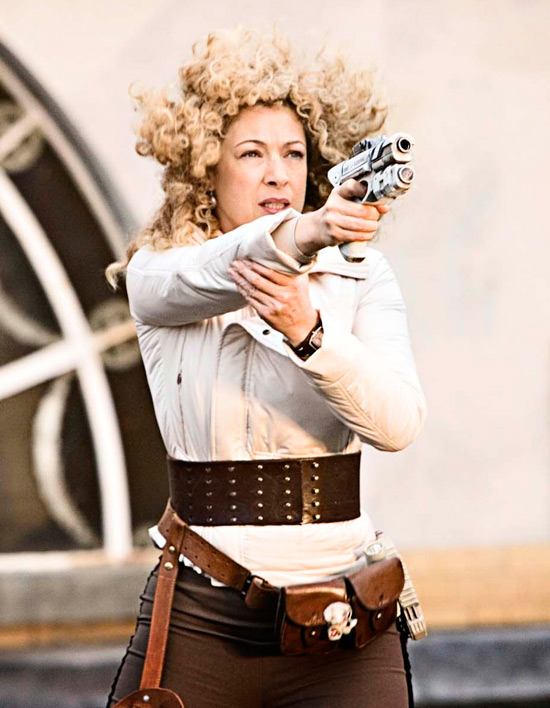 River Song from Doctor Who