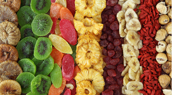 Try dried fruit as halloween candy this year!  It's just as sweet as traditional candy, but much healthier!