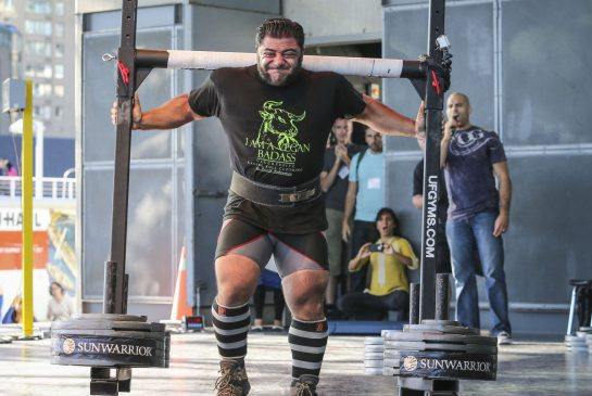 Patrik Baboumian, Vegan Strongman Champion. Image source:  David Cooper  / Toronto Star