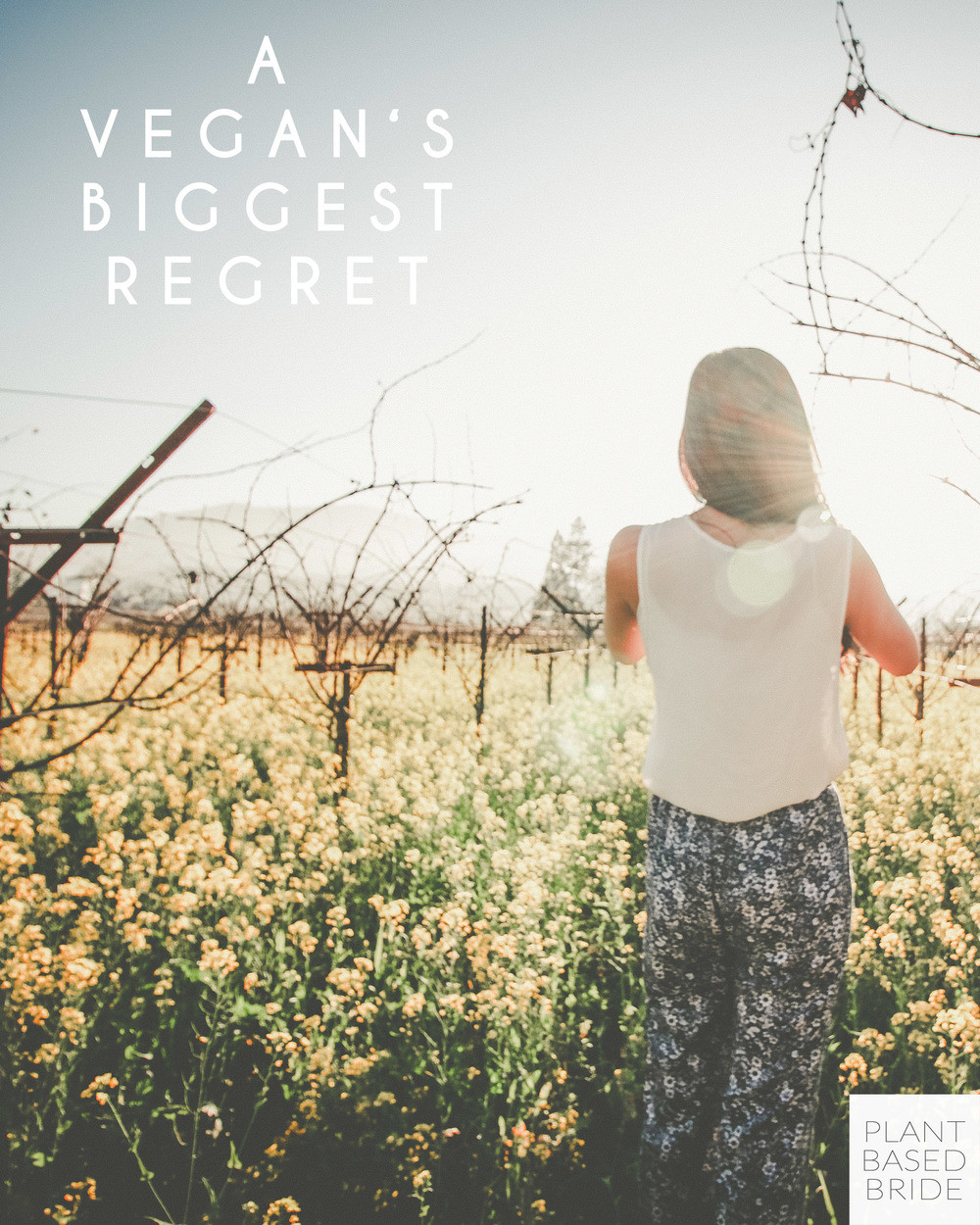 My biggest regret as a vegan. // Plant Based Bride
