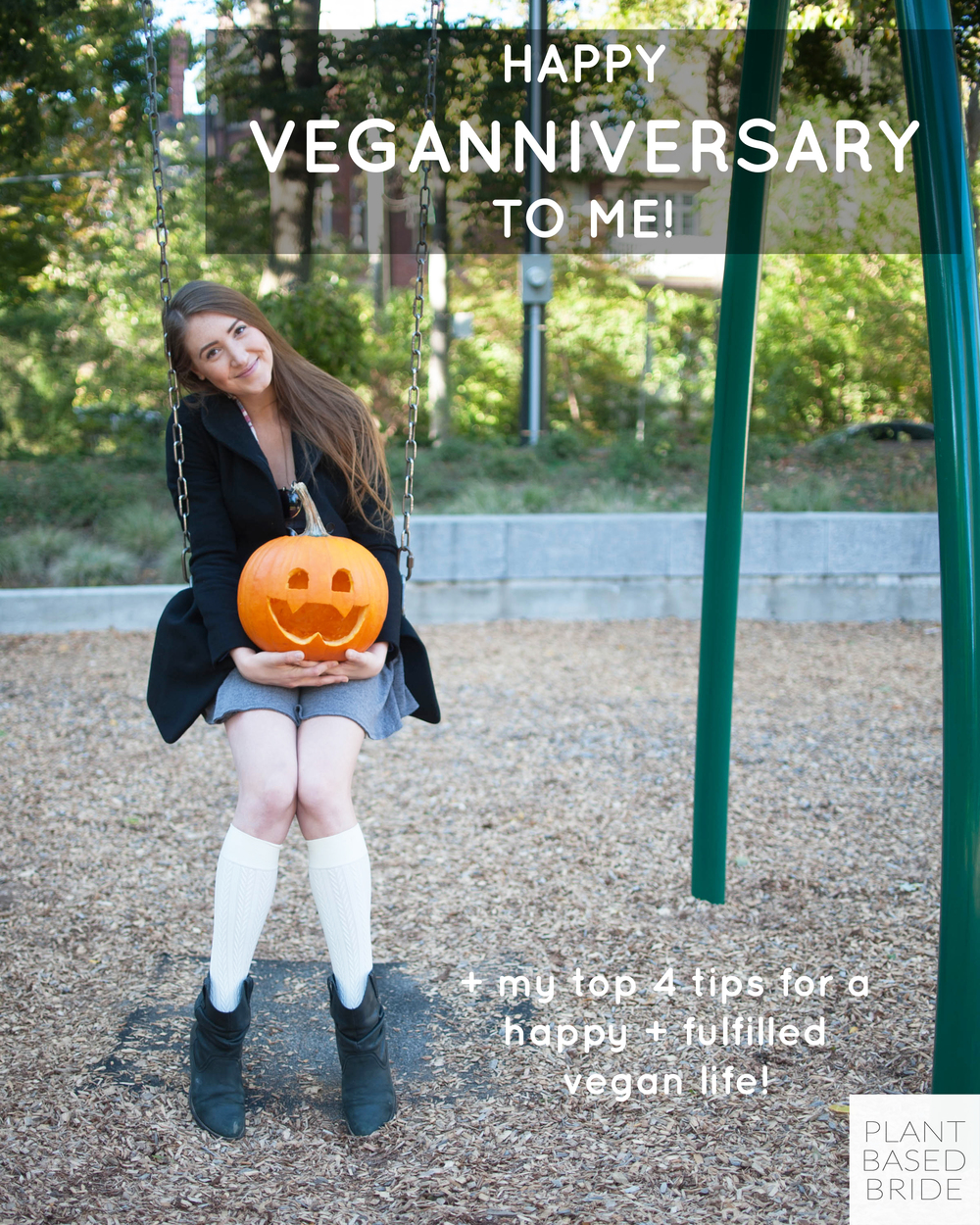 It's my veganniversary!! Let me share with you my top 4 tips for a happy and fulfilled vegan life!! // Plant Based Bride