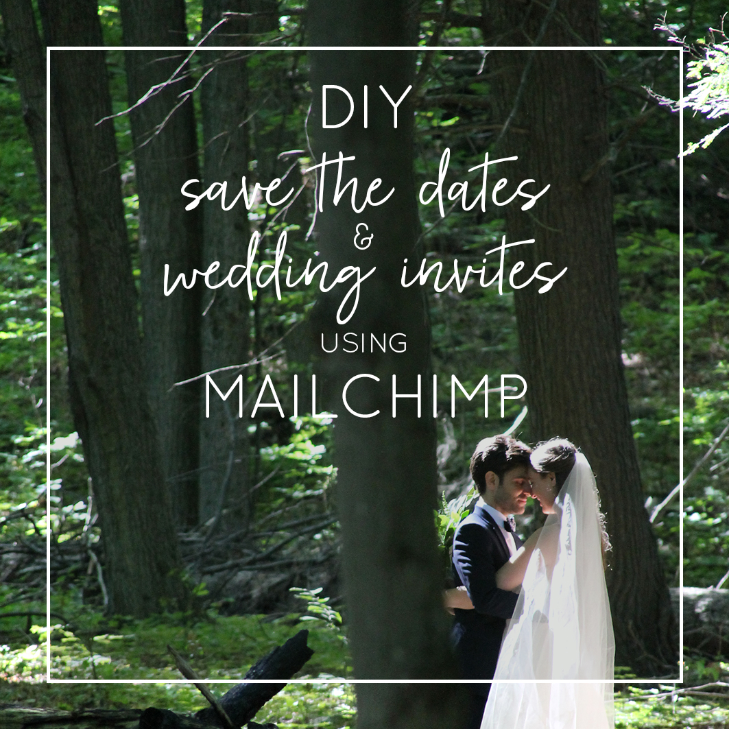 Mailchimp wedding