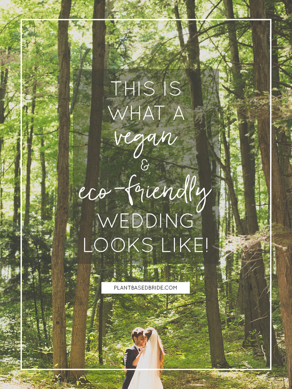 This is what a vegan & eco-friendly wedding looks like!  (A sneak peek into our big day) // Plant Based Bride