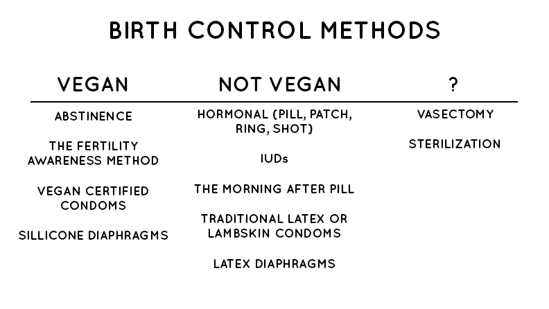 Is Birth Control Vegan? // Plant Based Bride
