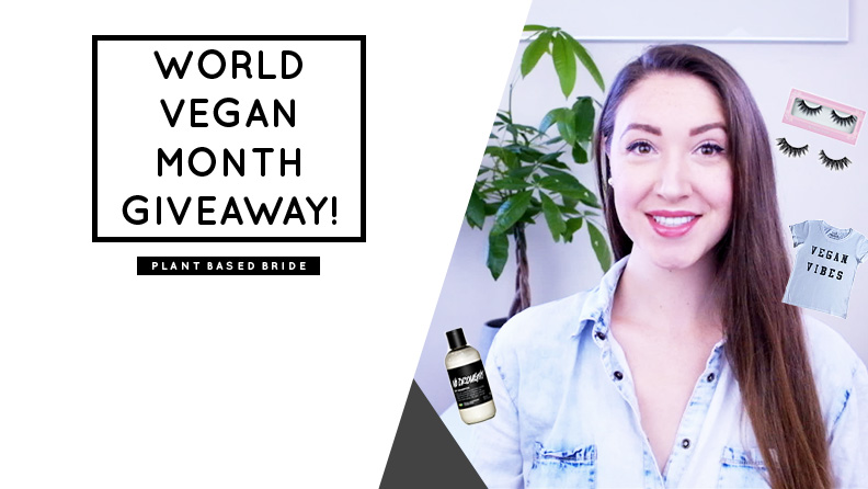 World Vegan Month Giveaway!  // Plant Based Bride