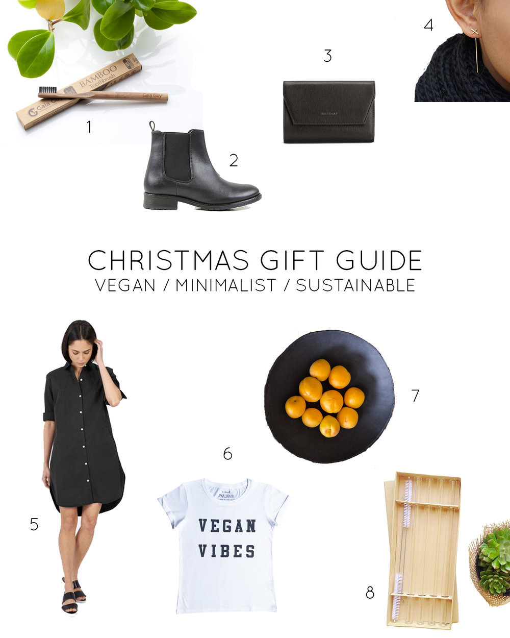 Christmas Gift Guide 2016 [ vegan | minimalist | sustainable ]  //  Plant Based Bride