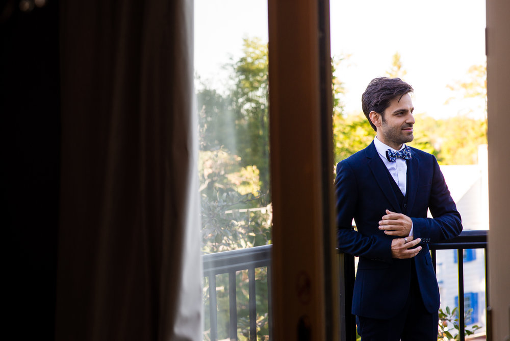 The groom. // Wedding photos by Karmel Kreative // Plant Based Bride