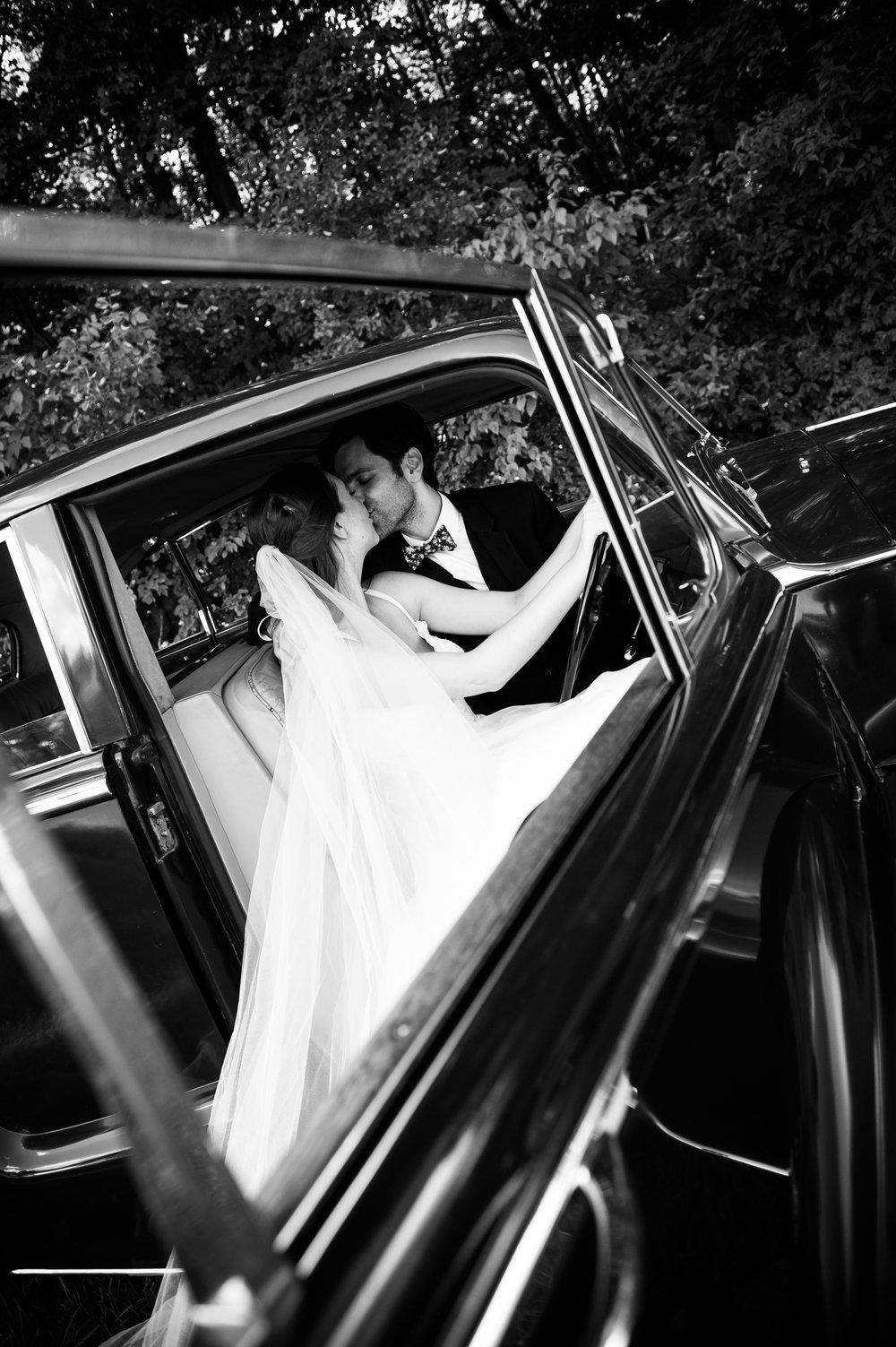 Newlyweds // Wedding photos by Karmel Kreative // Plant Based Bride